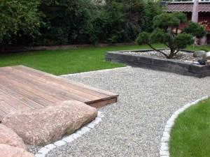 Garten im japanischen Stil