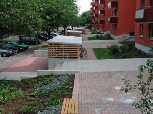Außenanlage Salzgitter-Lebenstedt nach Fertigstellung