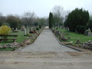 Weg Friedhof Salzgitter - Lebenstedt