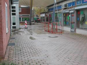 Zugang Marktfläche vorher
